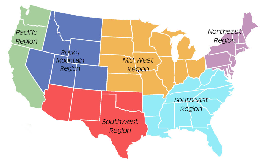 US Region Map